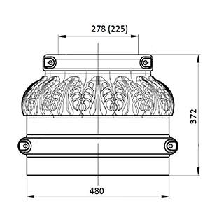 Цоколь чугунный Ц-3