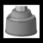 Цоколь чугунный Ц-3Т