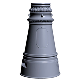 Цоколь чугунный Ц-7 (800)