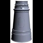 Цоколь чугунный Ц-6 р (расширенный низ)