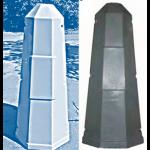 Цоколь стеклопластиковый Ц-808 А1200