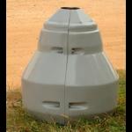 Цоколь стеклопластиковый малый ЦГ100