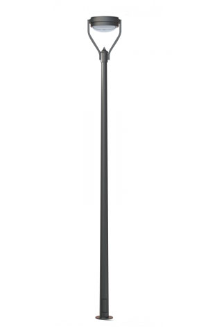 Стальной уличный фонарь 2.0.OK.0.V43-02/1